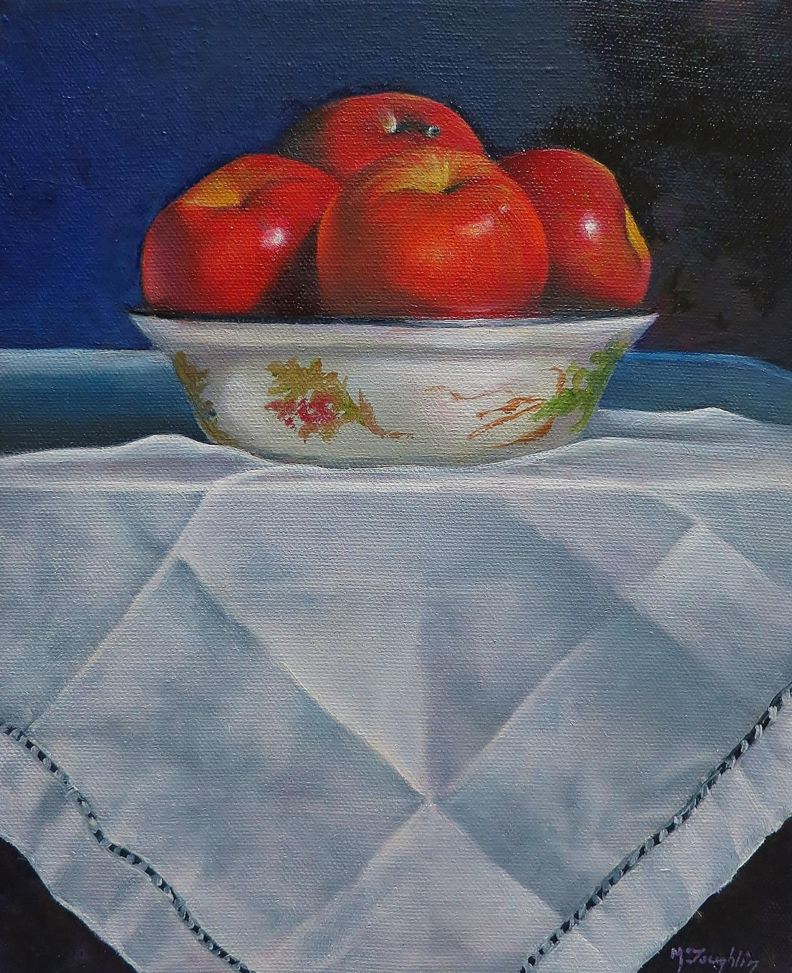 STILL LIFE WITH APPLES -SOLD