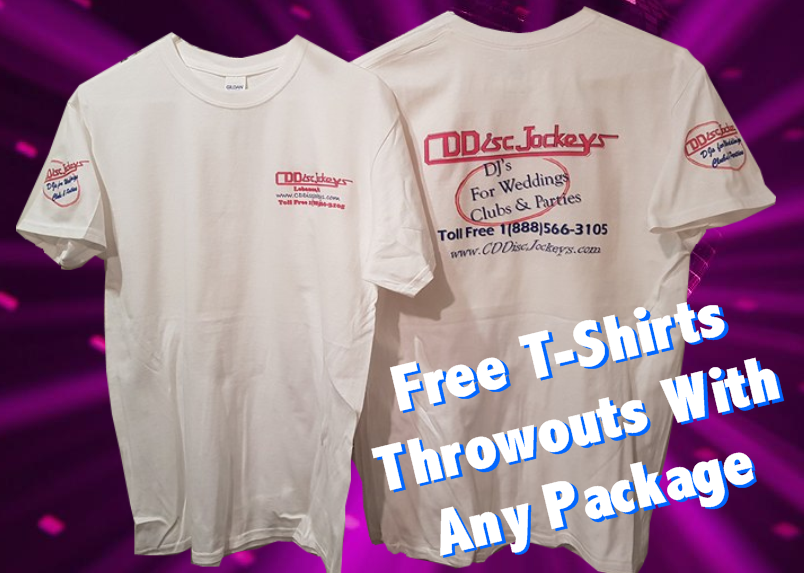 Free T-shirt Throwouts