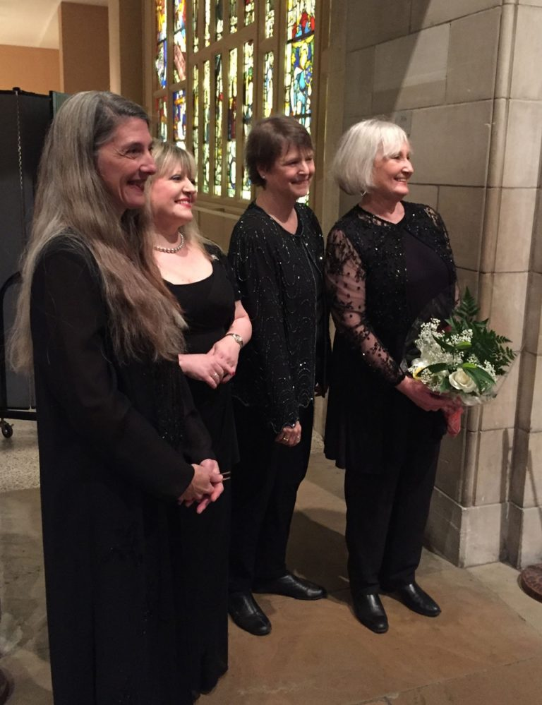 At the Metropolitan Museum of Art, after singing the final notes of The Last Noel on December 22, 2015