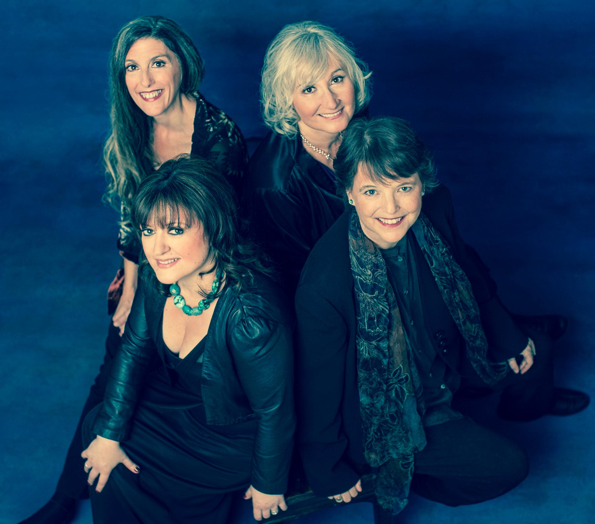 2014 photo shoot with Dario Acosta. Clockwise fro upper left: Marsha, Susan, Ruth, Jacqui