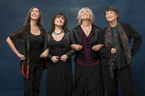 Looking toward the future. 2014, our last photo shoot. Photo: Dario Acosta. Marsha, Jacqui, Susan and Ruth