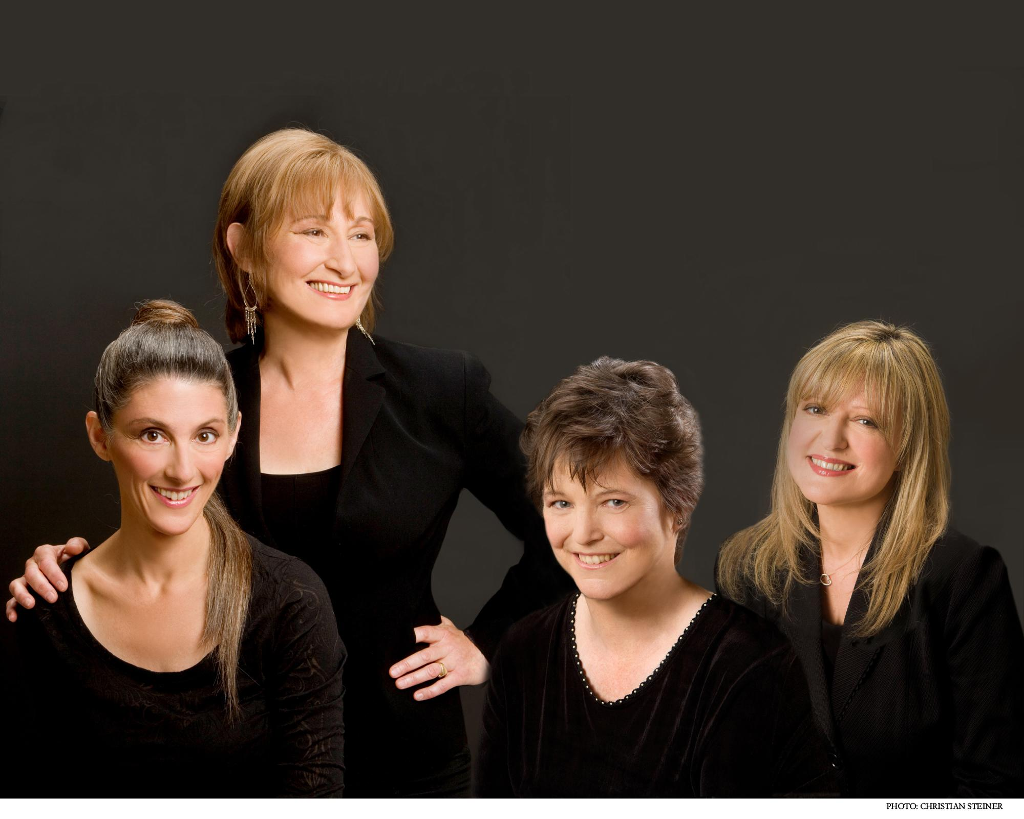Marsha, Susan, Ruth, Jacqui in 2009. Photo: Christian Steiner