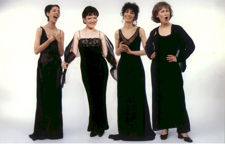 A little silly, 1998. Photo: Christian Steiner. Marsha, Jacqui, Johanna, Susan