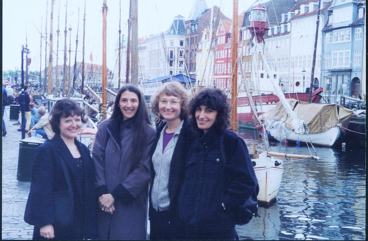At Copenhagen harbor in 1998