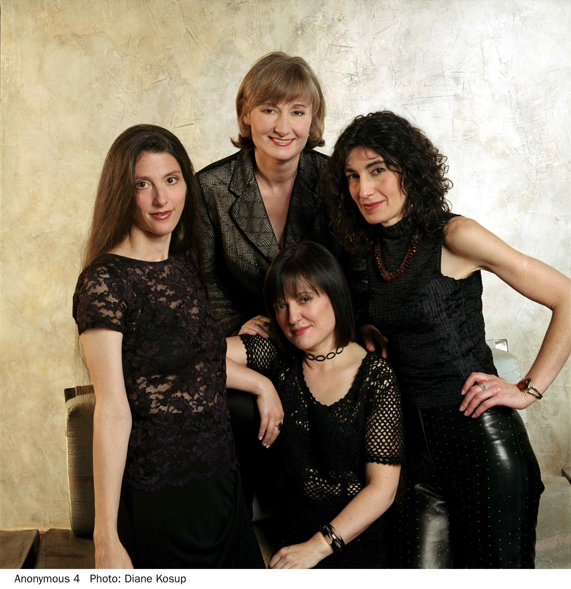 Photo: Diana Kosup, 2000. Clockwise from top: Susan, Johanna, Jacqui, Marsha