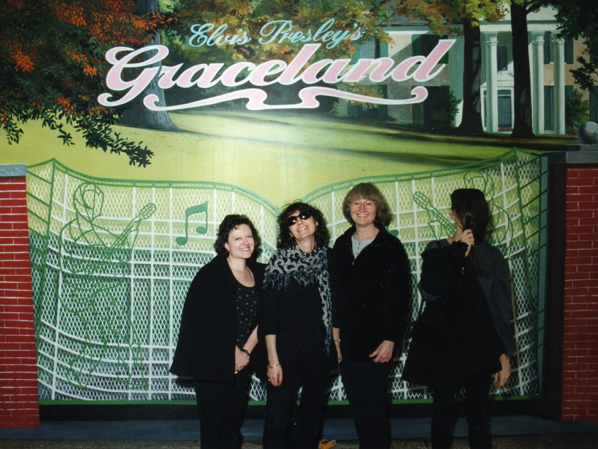 A memorable visit to Graceland in Memphis, Tenn. c. 1998