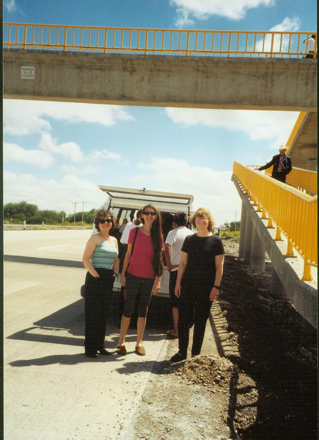Yes, the van broke down somewhere in sunny Mexico, c. 2000