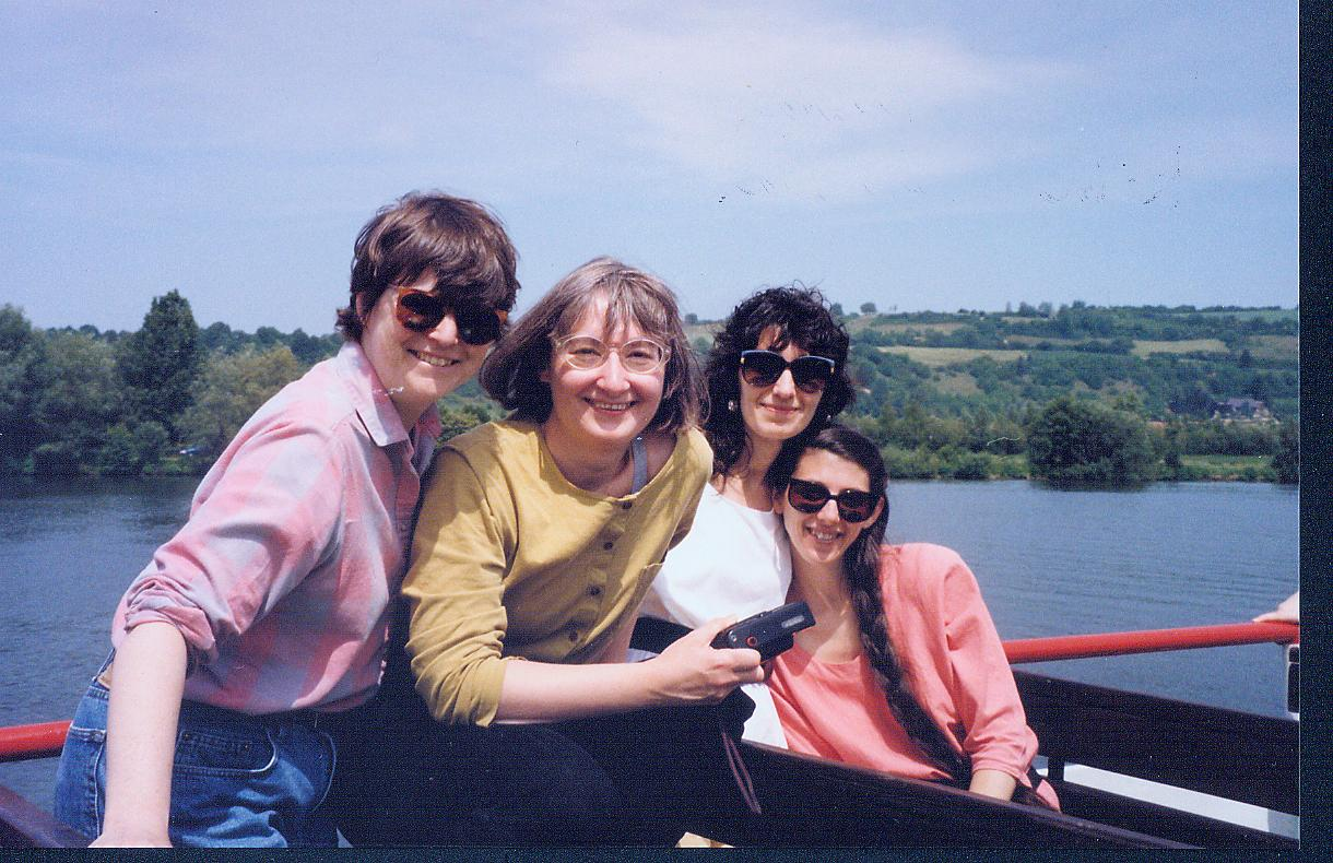 A ride on the Rhein c. 1991