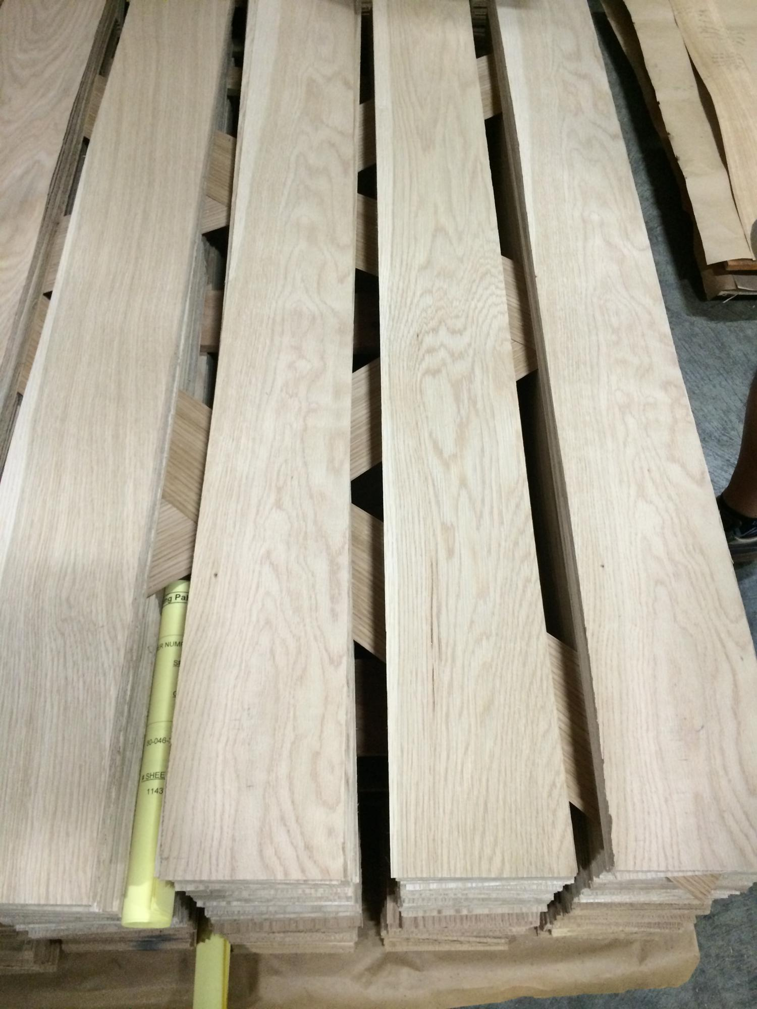 NCFP White Oak Thick Furniture Veneer