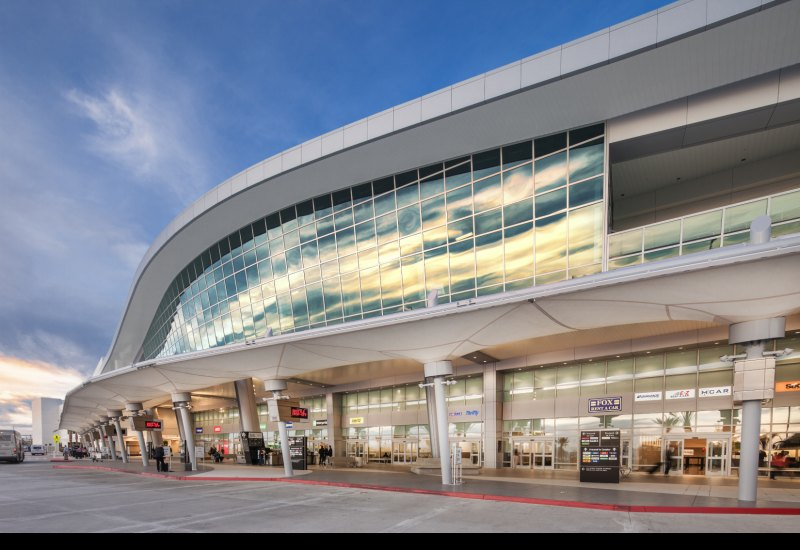 San Diego Airport Canopies