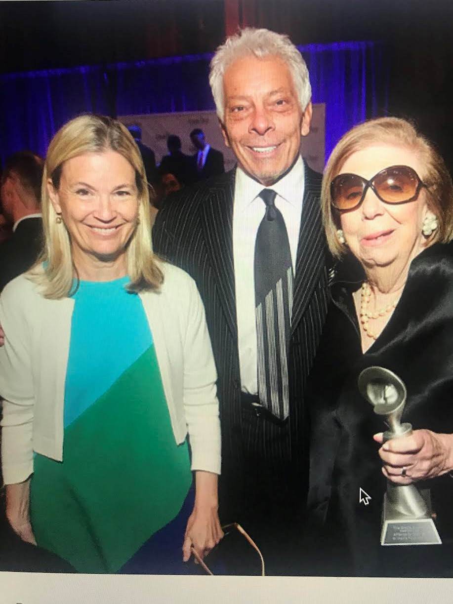 Mary Berner, Mike McVay, and the First Lady of NYC Radio Joan Hamburg