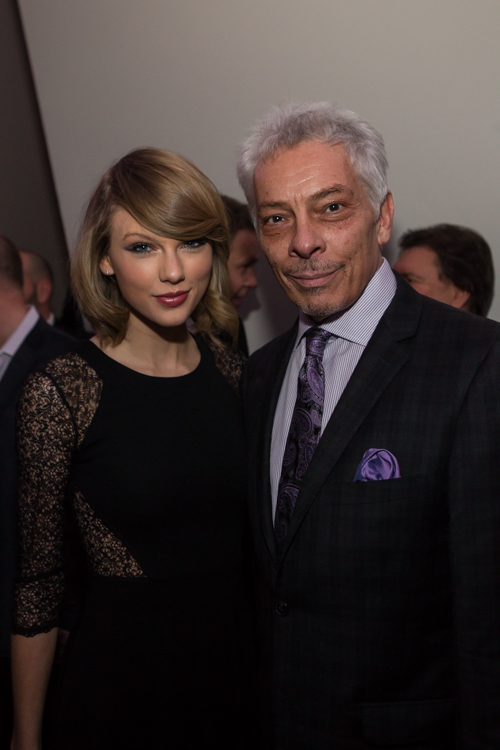 Taylor Swift and Mike McVay