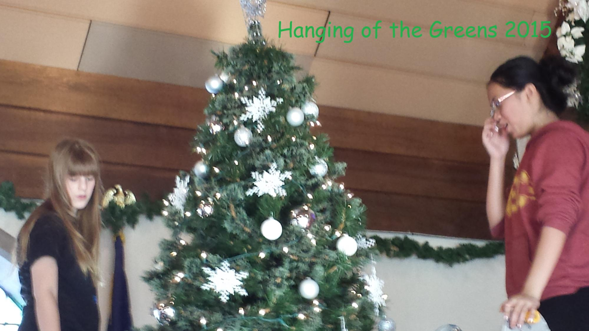 Hanging of the Greens 2015