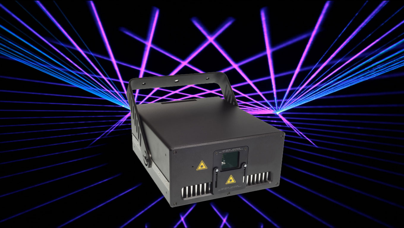 COSMICRAY full color laser projector by United Laser