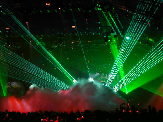 Lasers for convention centes by United Laser