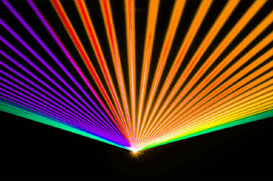 Laser Rainbow by United laser