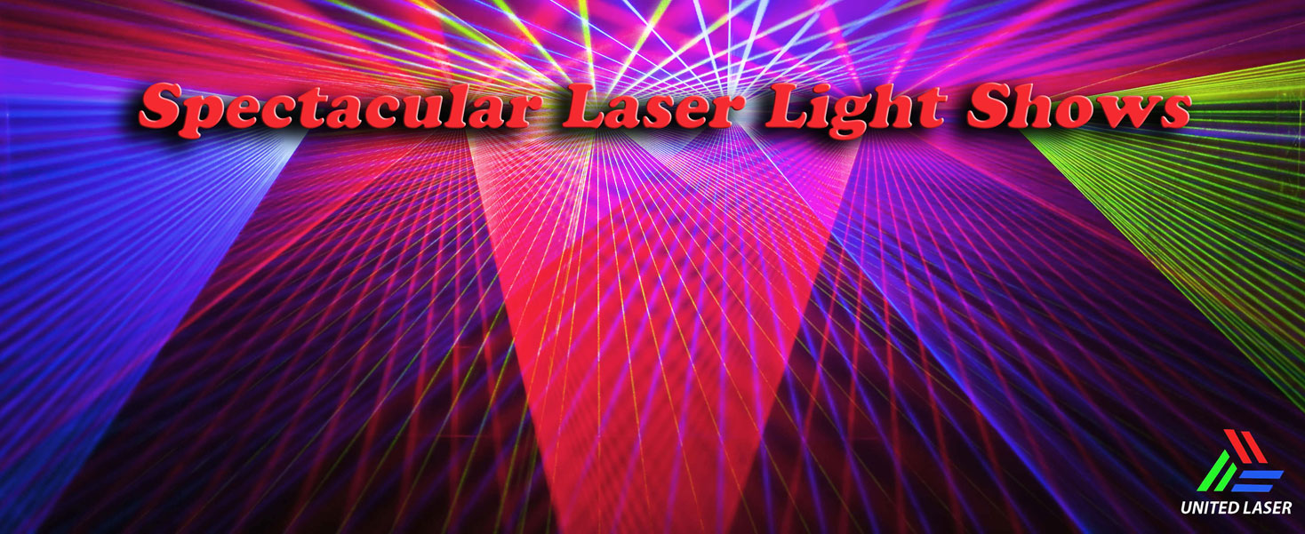 Spectacular Laser Light Shows by United Laser Miami Beach