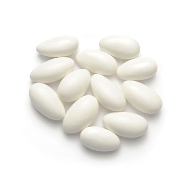 Jordan Almonds, White