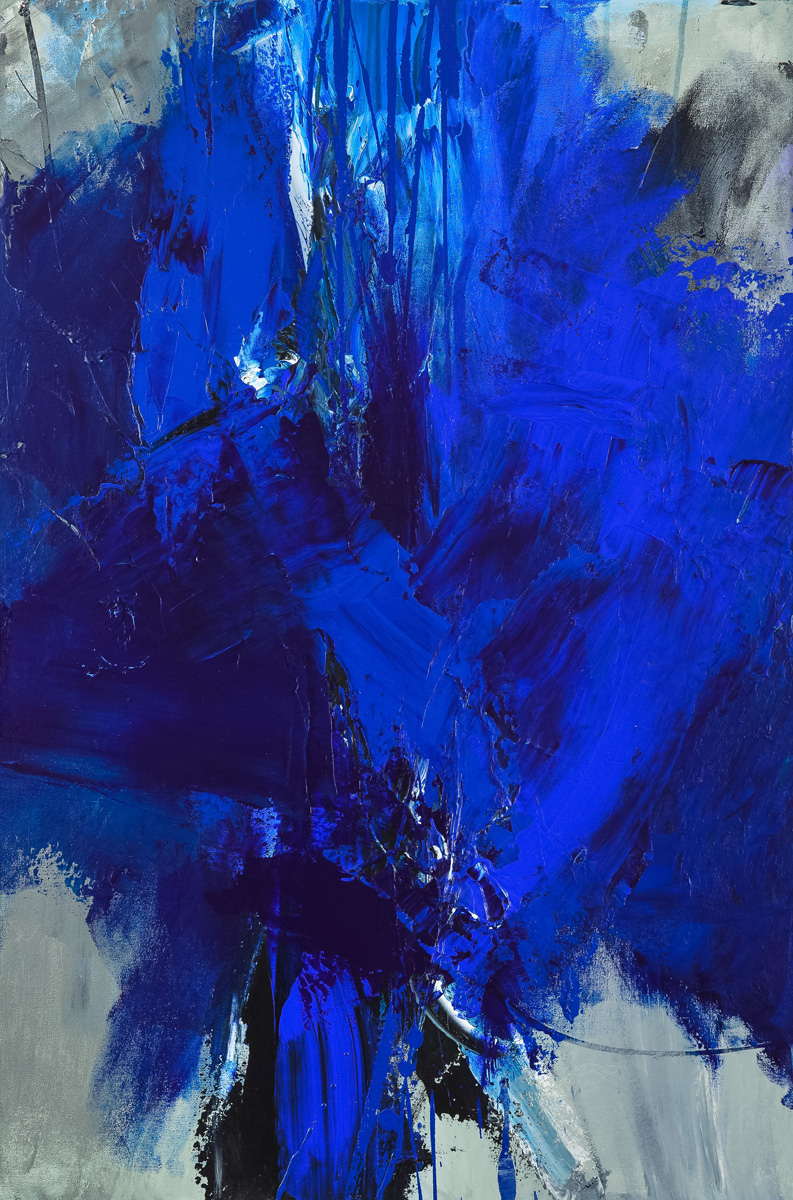 Title: Painting the blues