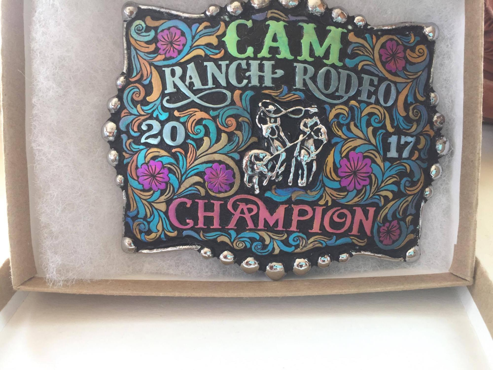 Buckle for the Winners of keeping the Same Team All Season
