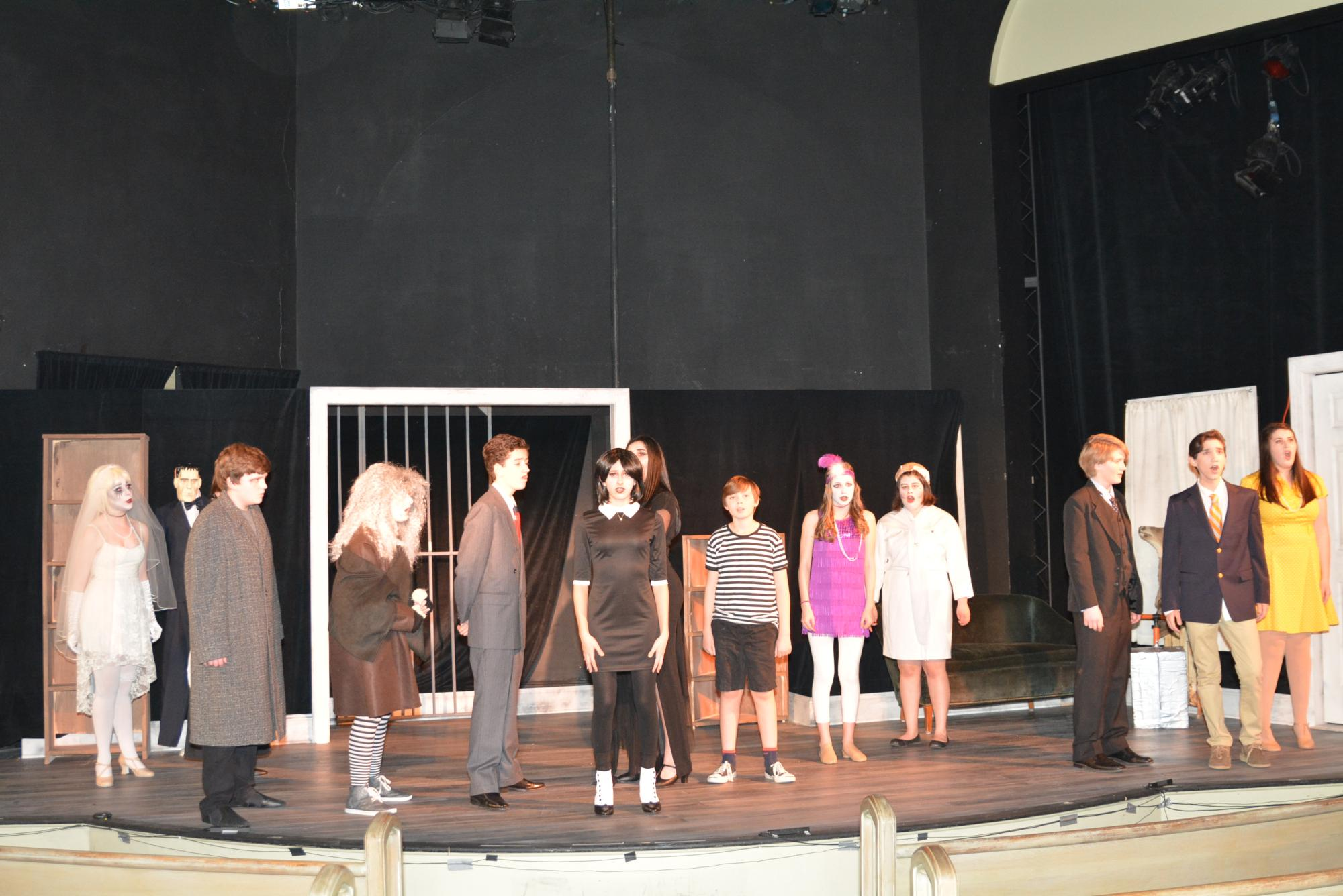 Our inaugural production... THE ADDAMS FAMILY!