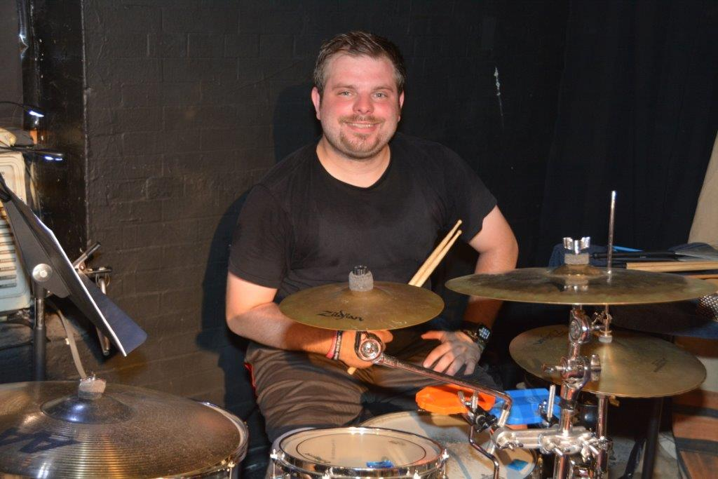 Our rock'n drummer Spenser Grasso