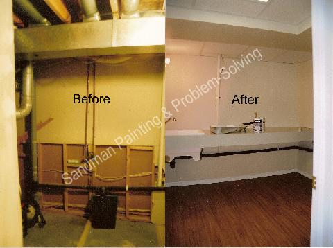 Before & After Laundry Room Reno