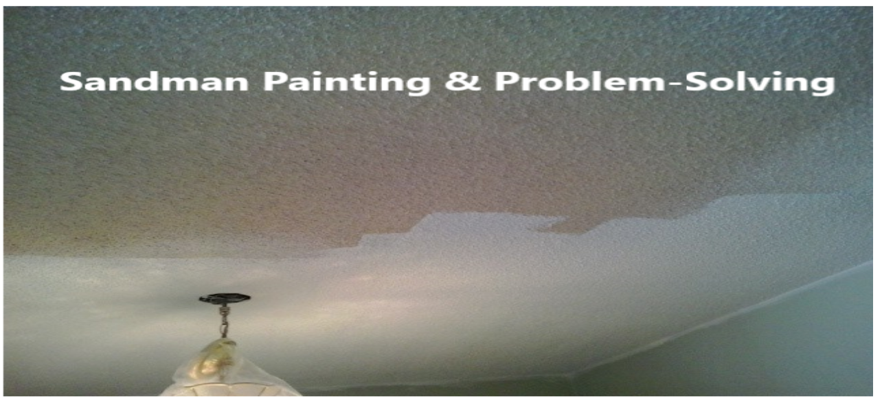 Ceiling Discoloration Repair