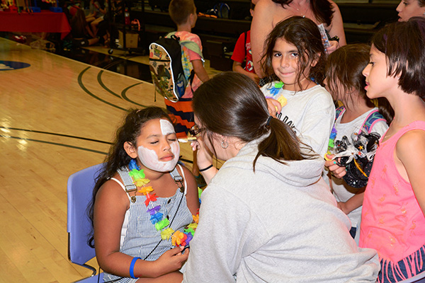 SIDC:  Carnival Face Painting