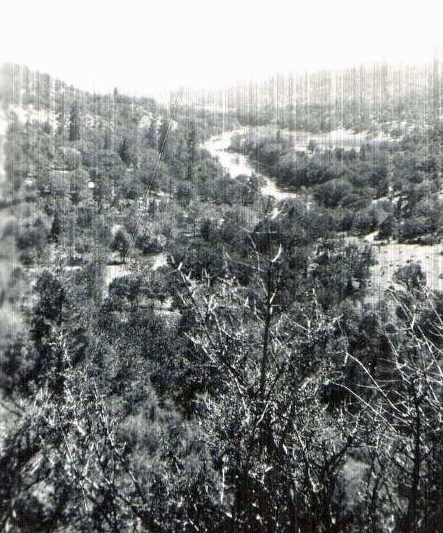Klamath River Canyon long ago
