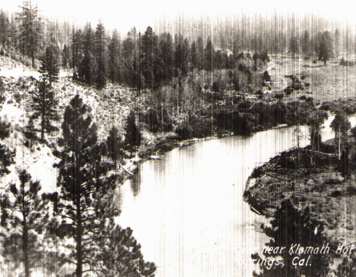 Klamath River at Hot Springs