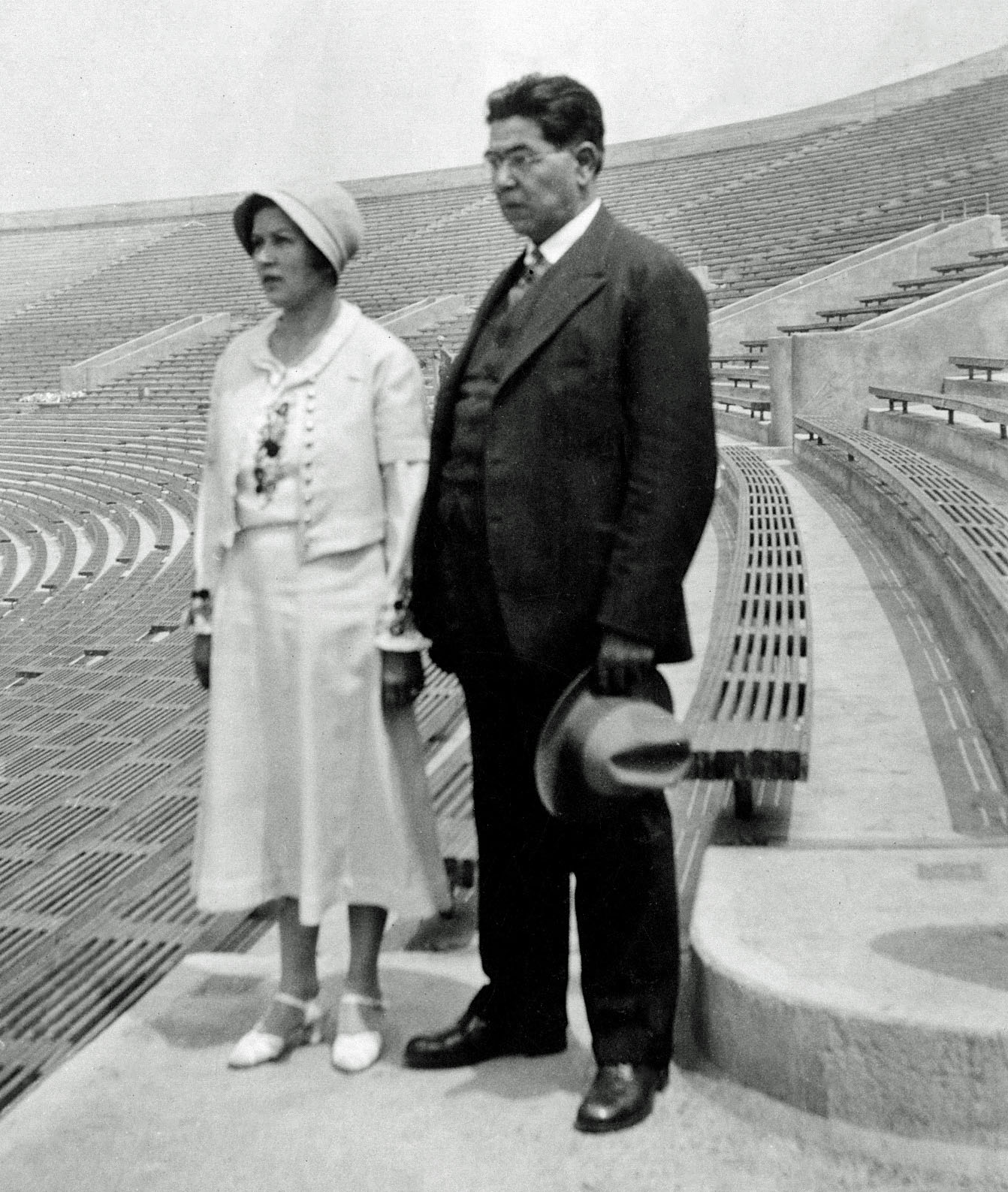 Mildred Hoover Leonard and Charles Pleasant Myron Picard,  circa 1935