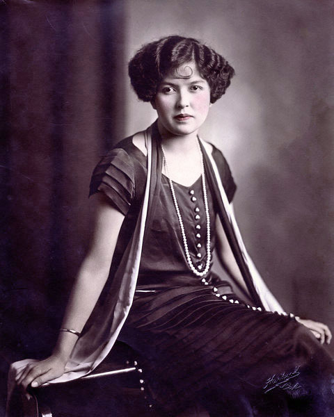 Mildred Hoover Leonard,  circa 1926