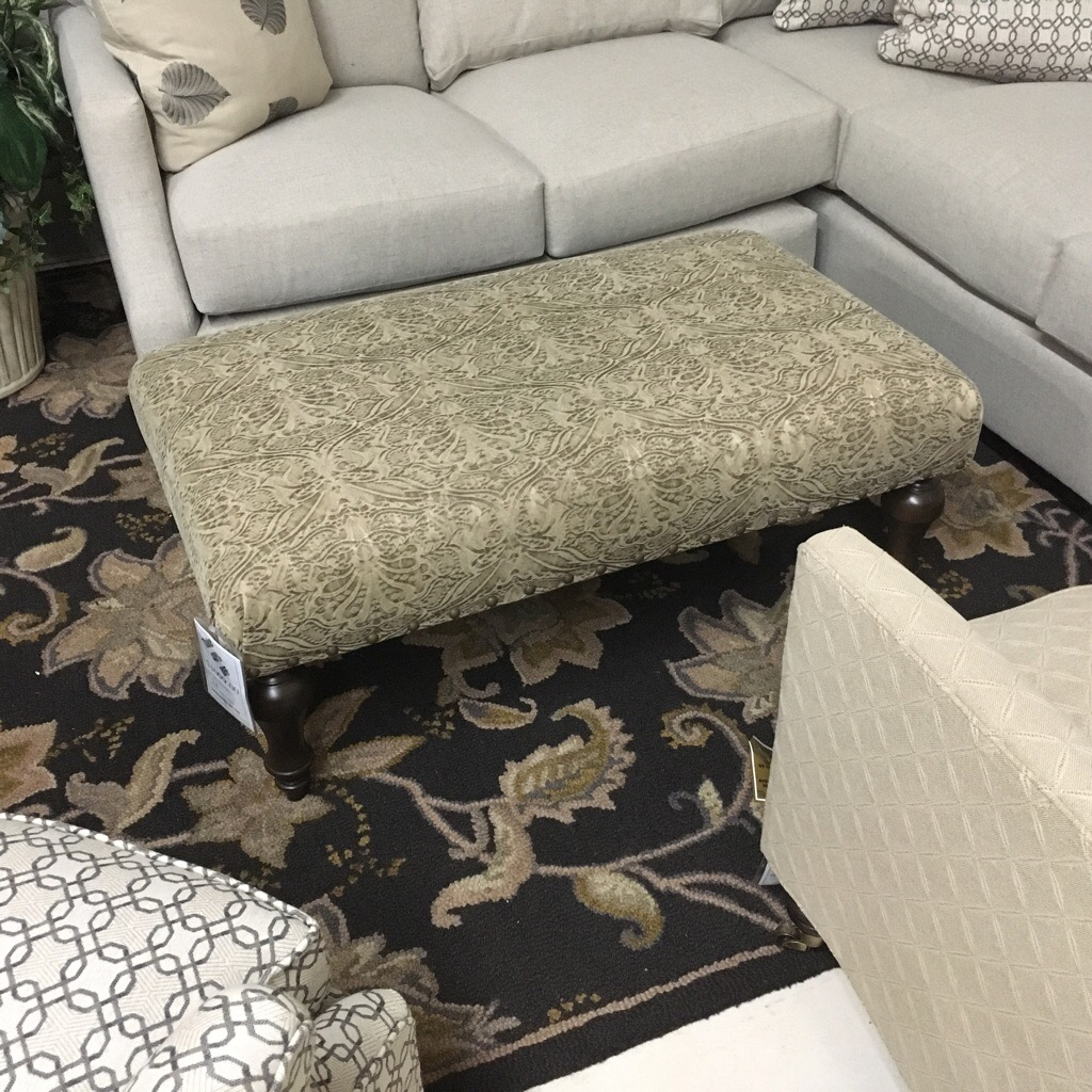 Rectangular version of the mix and match ottoman