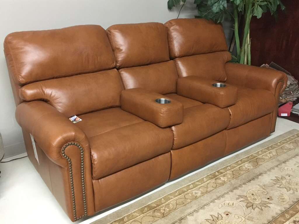 Electric reclining sofas, loveseats and chairs in lots of leather choices