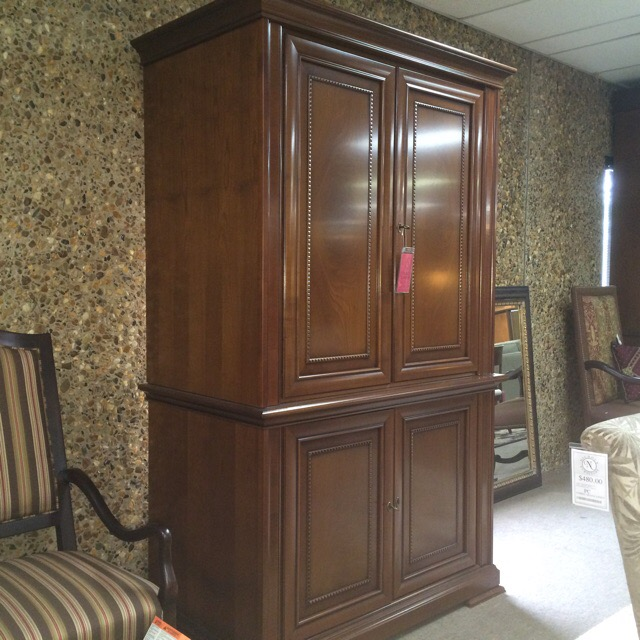 Italian armoire with locking doors, makes a great liquor cabinet