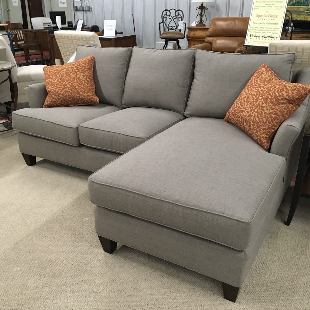 Two piece Sofa with chaise made in North Carolina