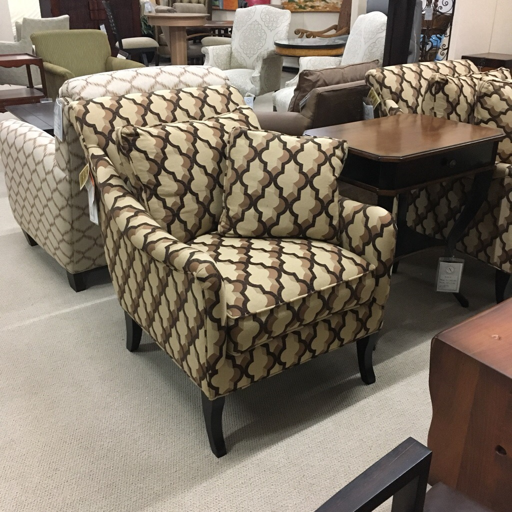 Pair of club chairs made in North Carolina, sold each