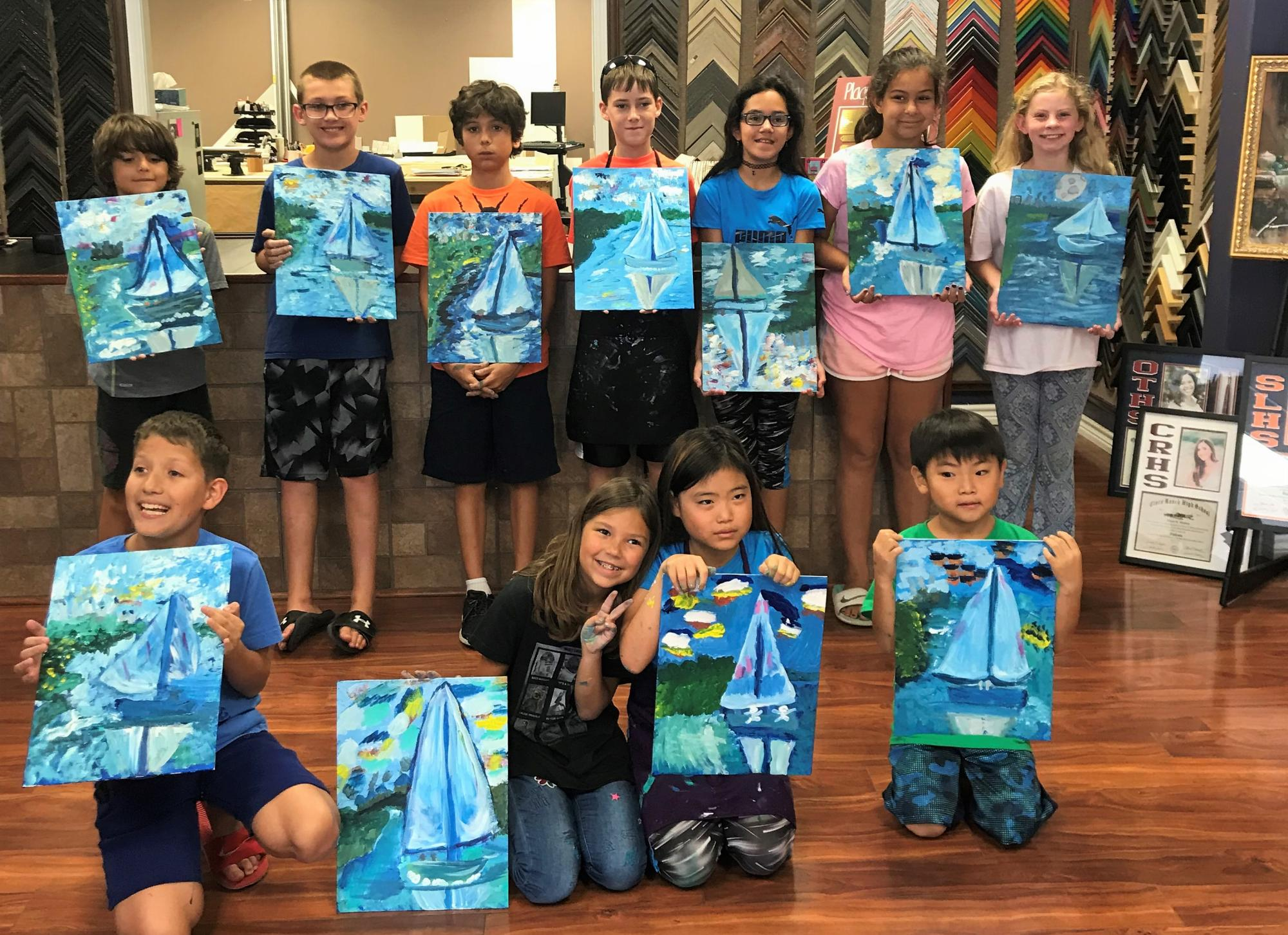 Paint Like Monet Summer Camp