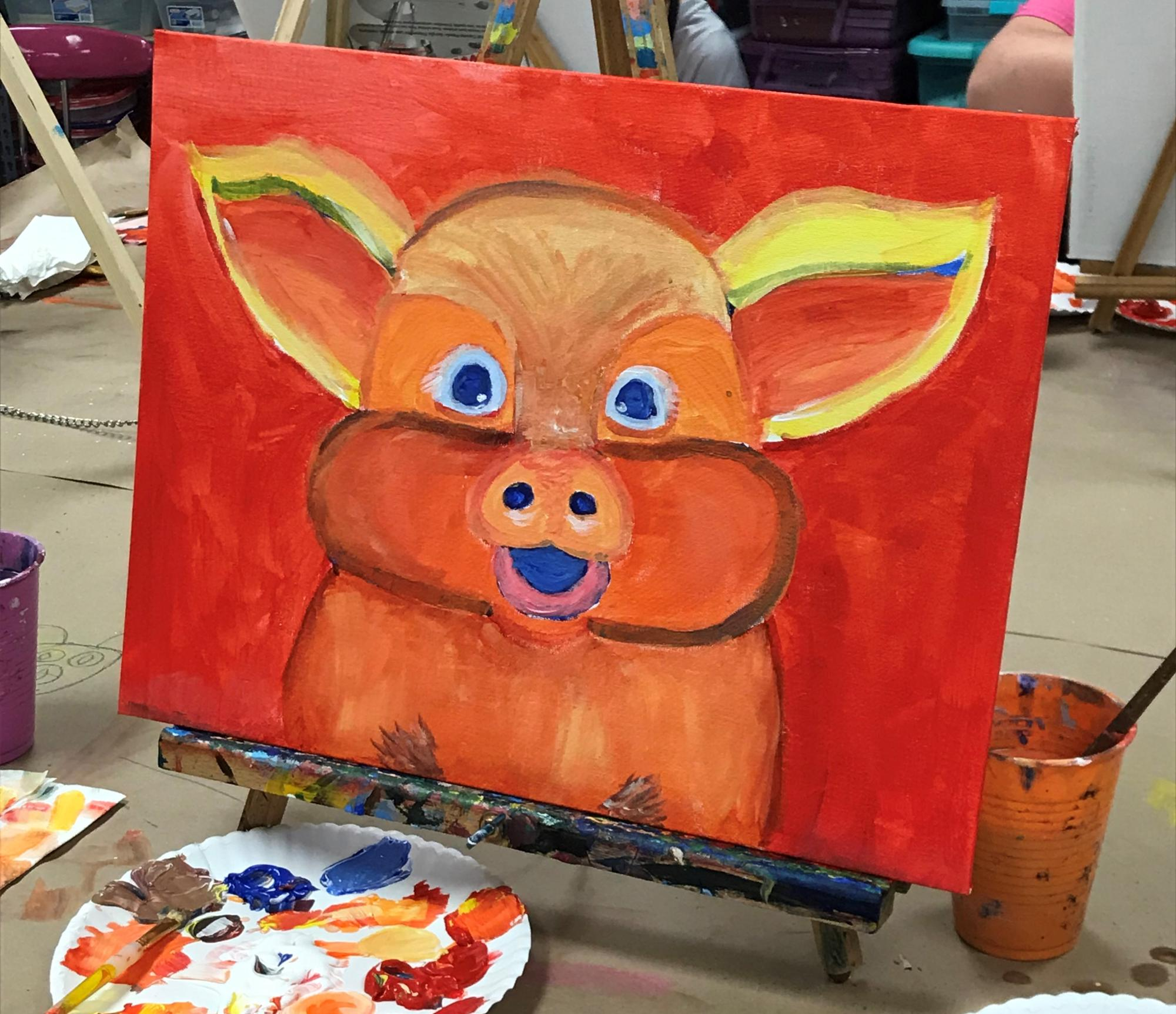 Summer Painting Session 4: Farm Animals