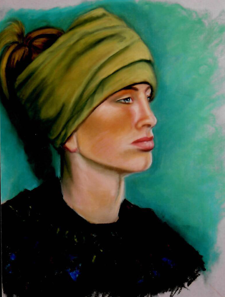Girl_in_Green_Turban_18_x_22_Pastels_on_paper.jpg