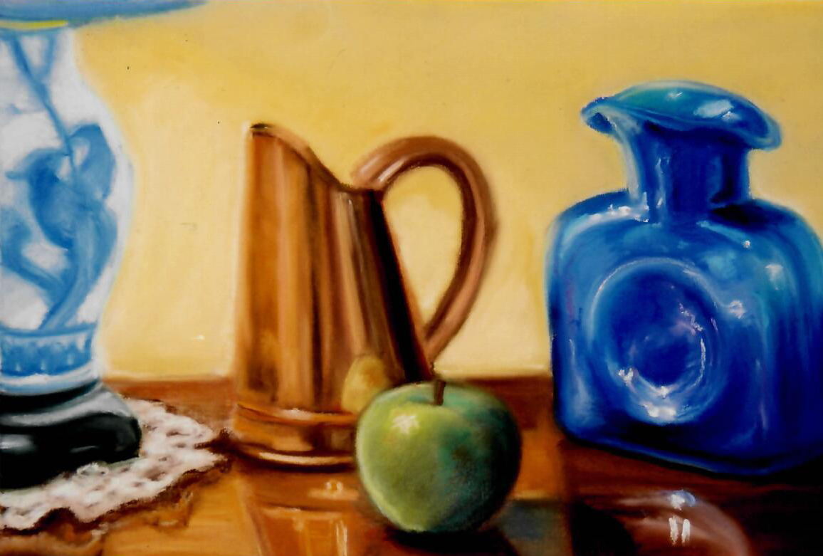 Still_life_with_blue_jar_18_x_22_Pastels_on_paper.jpg