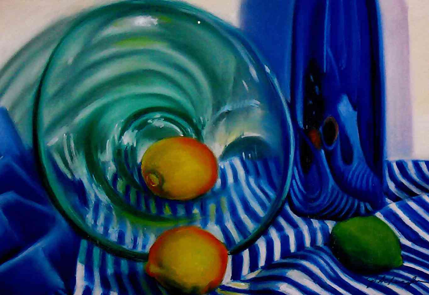 Still_life_with_green_bowl_12_x_19_Pastels_on_board.jpg