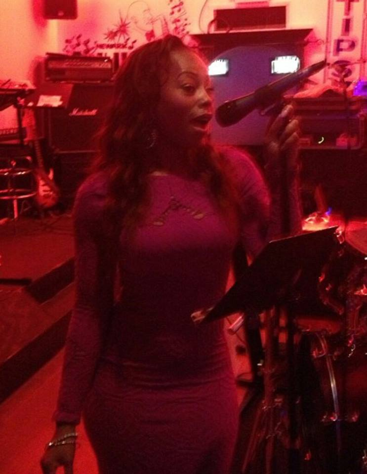 Singer/actress Ciarah Hayes during her stint as a vocalist with FLAVUH