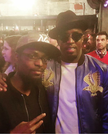 Phil with Diddy