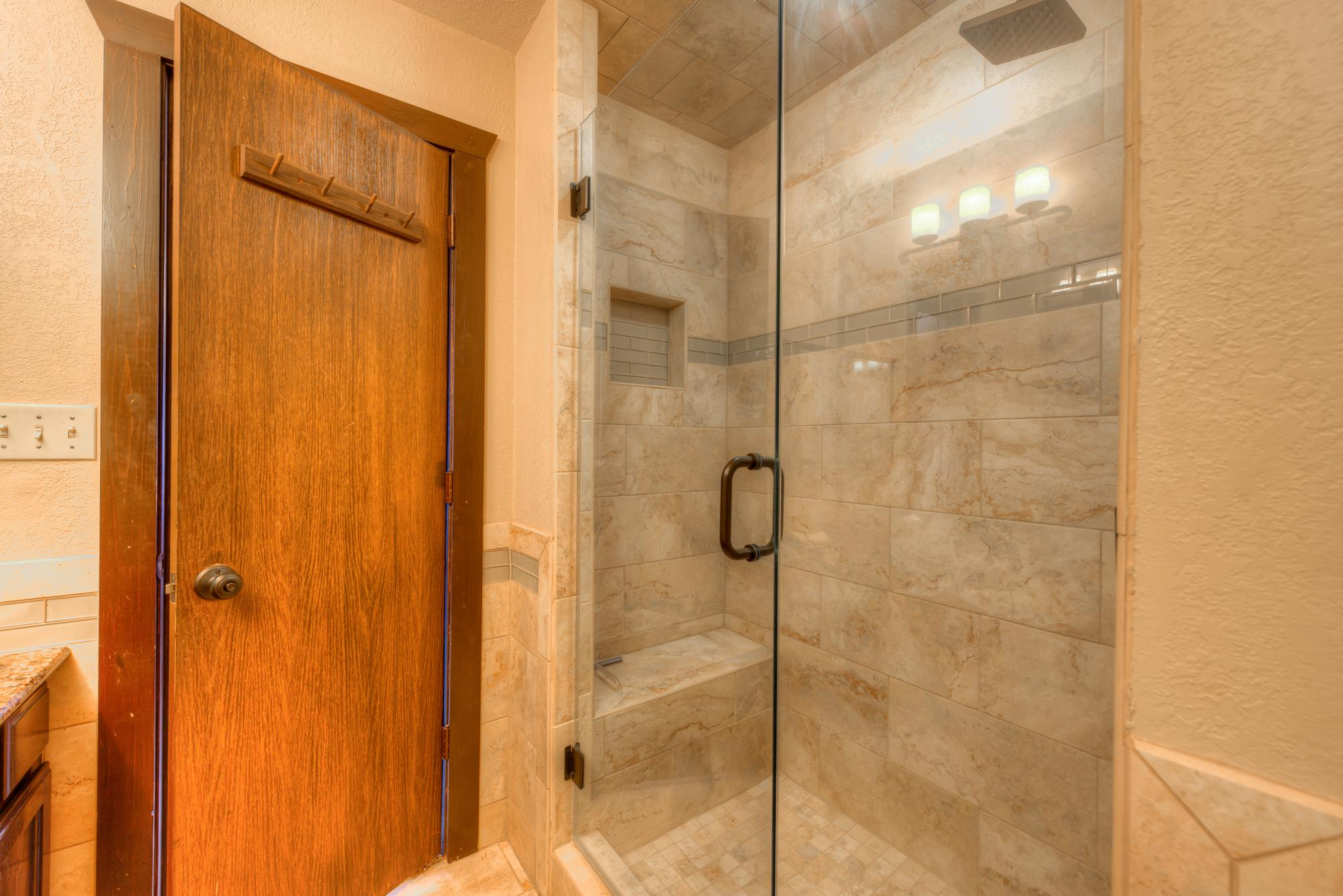 Custom Master Bath-Walk in Shower