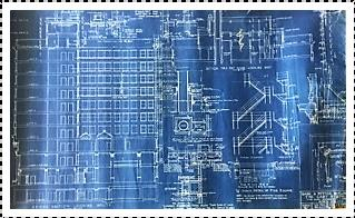 Original Blueprints by Architect Ivar Viehe-Naess & Company 1927