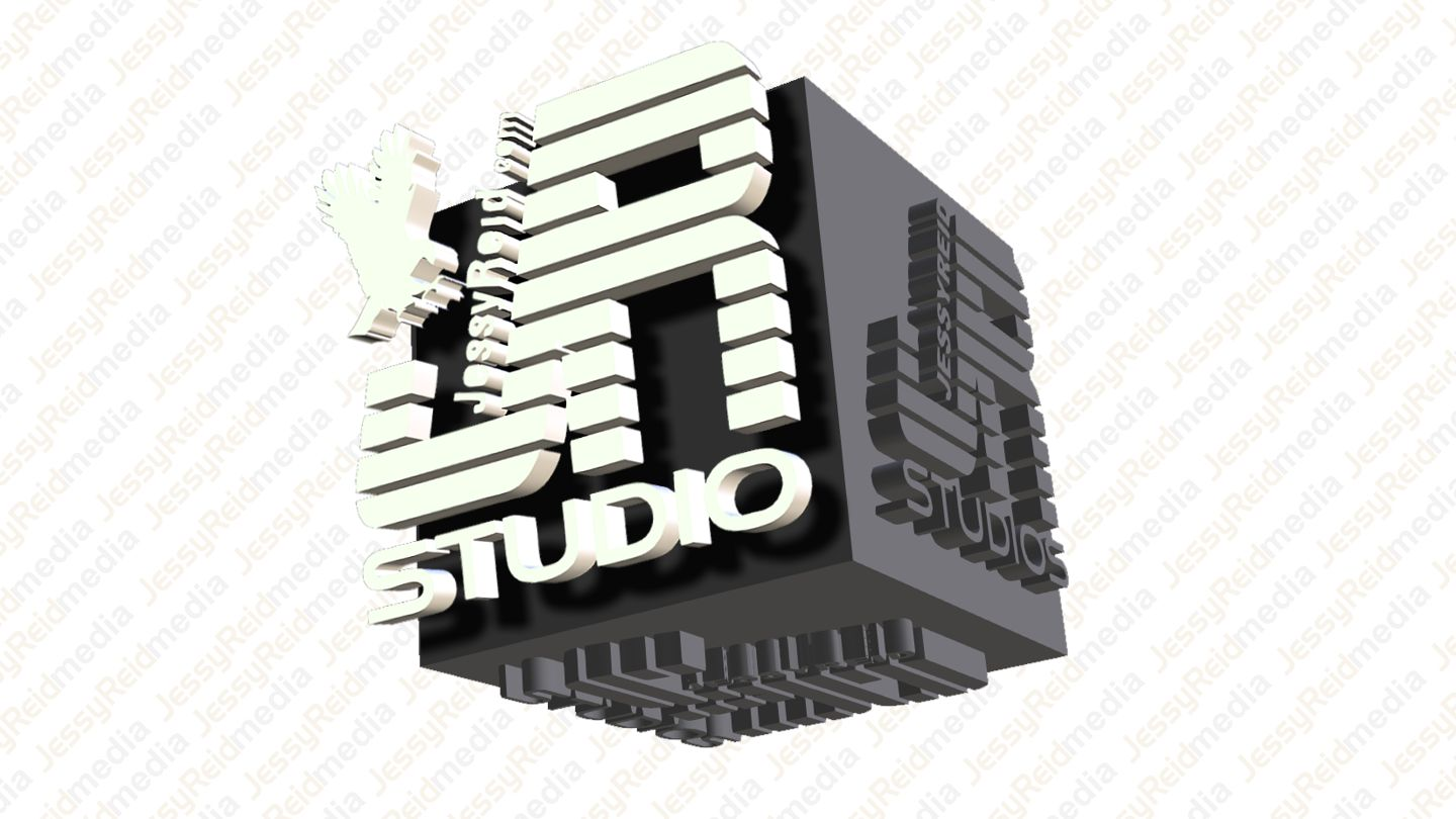 3D LOGO CUBE JR Studio Grey