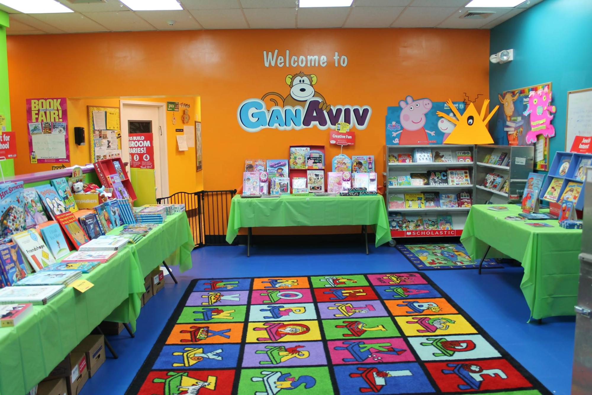 Book fair at Gan Aviv