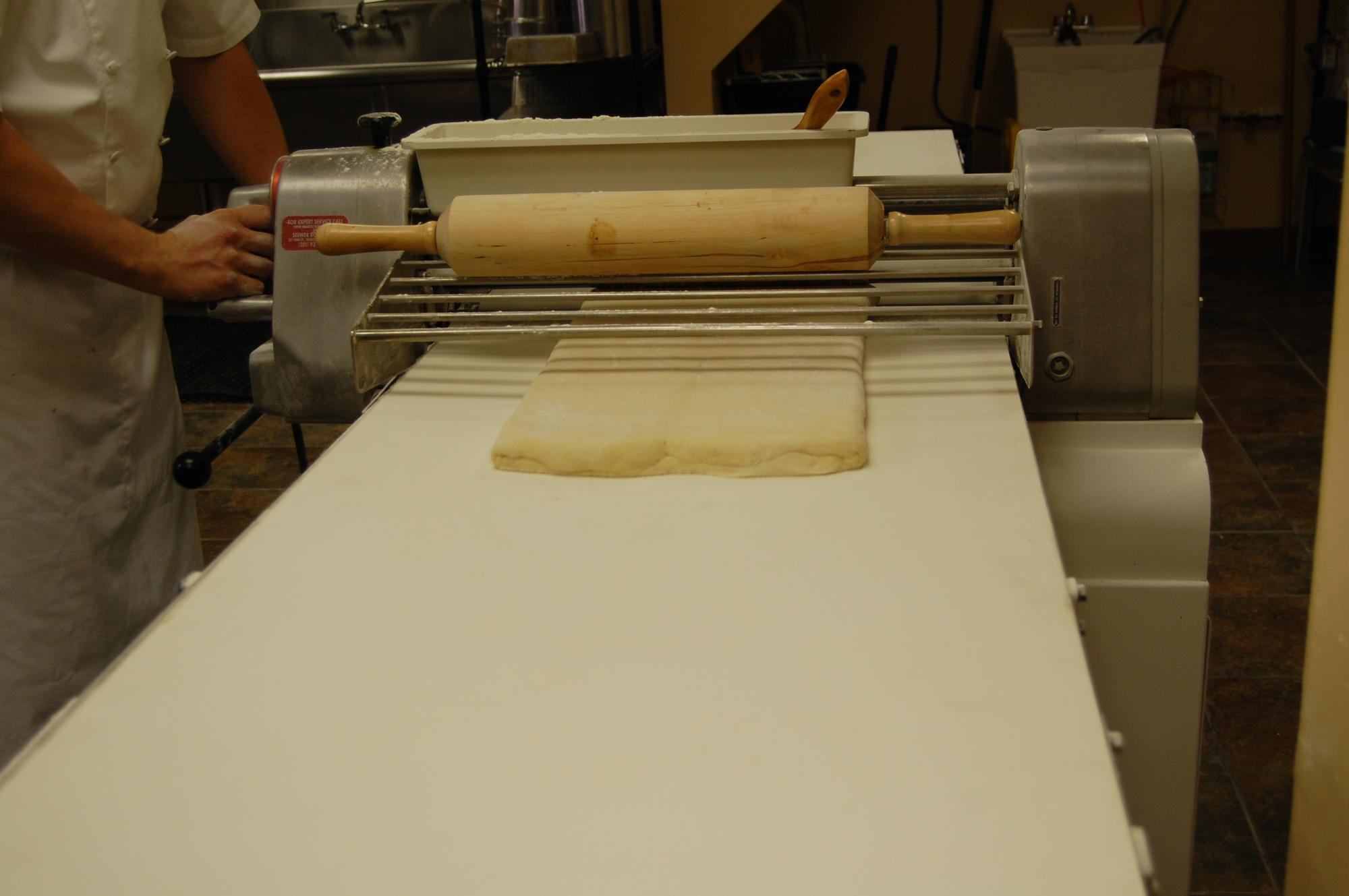 Laminating Danish Dough